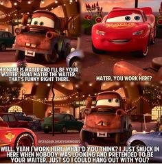 more towing mater disney quotes tow mater quotes disney cars quotes ...