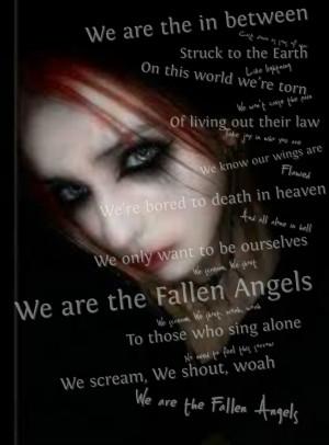 fallen angel memorable quotes fallen angels Quotes