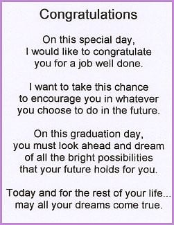 of inspirational graduation poems , advice and speeches for Graduation ...