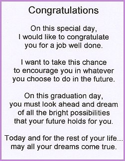 Inspirational Graduation Poems And Quotes. QuotesGram