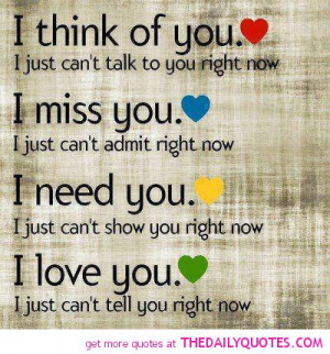 Thinking Of You Friend Quotes And Sayings I think of you.