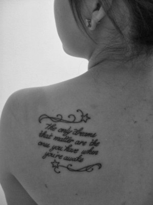 country quote tattoos for women