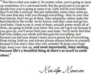 quotes and sayings marilyn monroe. inspirational quotes and
