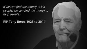 RIP Tony Benn, one of Britain's greatest socialist