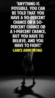 Anything Is Possible.You Can be Told That You Have A 90 Percent Chance ...