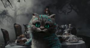 Cheshire cat...