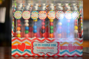Valentine Bubble Gum and lots of other cute Valentine ideas for your ...