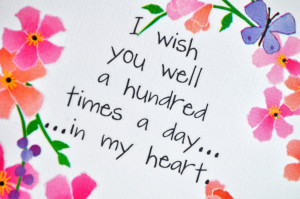... you so much again for all of your well wishes and wonderful comments