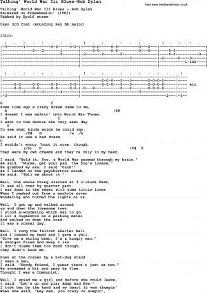 ... bolingbrookmasjid.com/_vti_bin/27/bob-dylan-lyrics-world-war-iii-blues