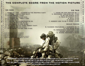 Hans Zimmer Black Hawk Down Complete Score Del 2001 Trasera