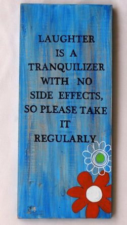 hand painted quote on wood by monica
