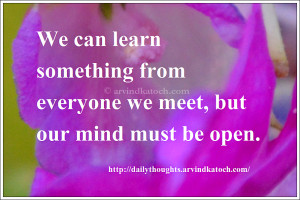 Thoughts For The Day Quotes With Meaning ~ Daily Thoughts (With ...