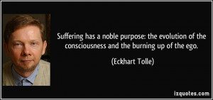 noble purpose: the evolution of the consciousness and the burning ...