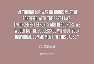 Quotes by Mel Carnahan