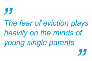 Single Parent Family Quotes Of young single parents in