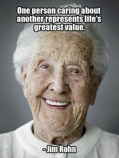 Great Quotes About Caring for the Elderly