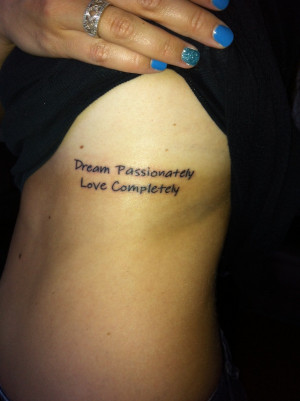 Inspirational Tattoos Designs, Ideas and Meaning