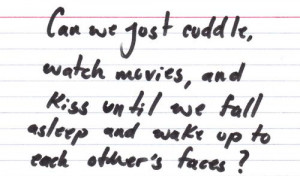 love cute quote text movie words sleep aw kiss Cuddle