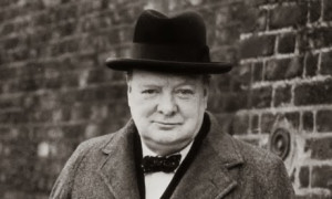 This quotation is usually attributed to Winston Churchill. NPR ...