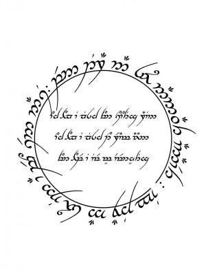 Lord Of The Rings Quotes In Elvish The Rings Elvish lord of