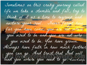 Quotes About Life's Journey Of Love