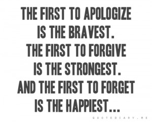Emotional Competency - Paths of Apology and Forgiveness