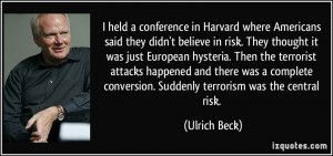 More Ulrich Beck Quotes