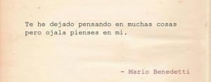 Mario Benedetti, quotes