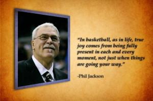 Phil Jackson Quote