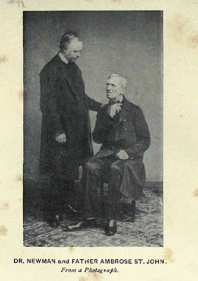 of john henry newman and ambrose saint john together john henry newman ...