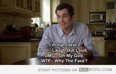 Why the face? - Funny Modern Family quotes with Phil Dunphy: