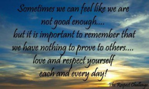 Quote Tired Feeling Like Not Good Enough