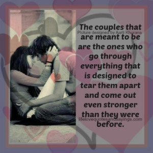 The Couples That Are Made For Each Other..