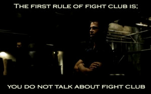 Fight Club Rules Quote http://www.wallpapermay.com/Movie/Fight_Club ...