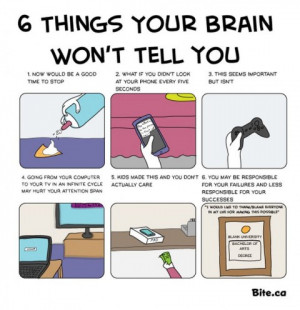 Things Your Brain Won't Tell You