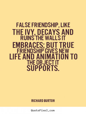 False Friendship Quotes and Sayings