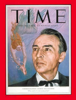 ... balanchine jan 25 1954 previous week s cover following week s cover
