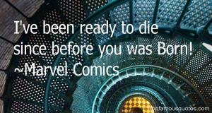 Favorite Marvel Comics Quotes