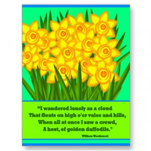 Daffodils - William Wordsworth