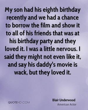 Blair Underwood Birthday Quotes