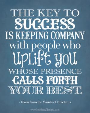 Monday Motivation - Uplifting People