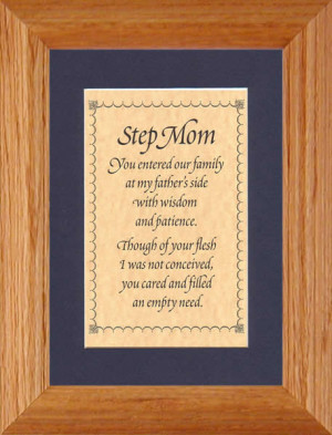 step-mom's love is a choice and a blessing!