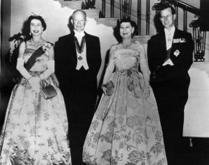 Dwight and Mamie Eisenhower Wedding