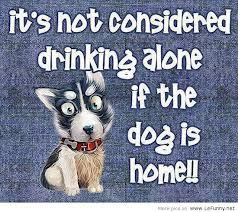funniest drinking alone quotes, funny drinking alone quotes