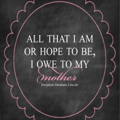 Get your free 8×10 Mother's Day printable. Frame it for your mom or ...