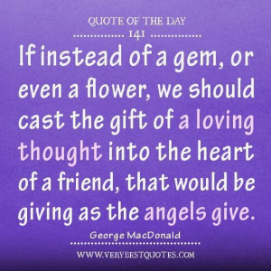 about friendship friendship quotes quote of the day loving thought ...