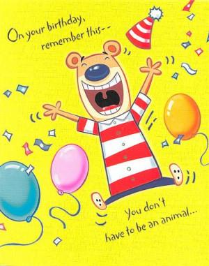 funniest birthday animal quotes, funny birthday animal quotes