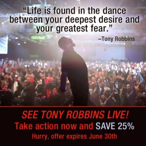 Tony Robbins #inspirational quotes