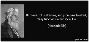 Birth-control is effecting, and promising to effect, many functions in ...