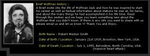 wolfman jack online museum american graffiti wolfman jack richard ...